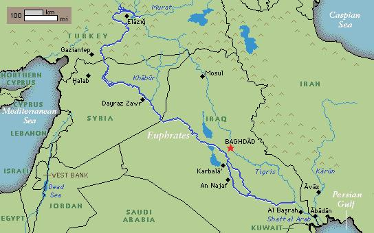 International Water Law Project Blog » Blog Archive Euphrates River ...